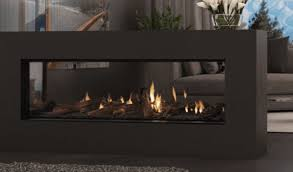 escea ds1400 gas log fireplace single