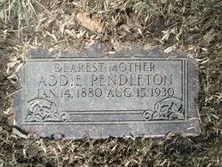 Addie Cole Pendleton (1880-1930) - Find A Grave Memorial
