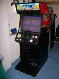 sega rally upright for other cabinet