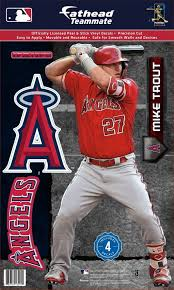 Fathead Los Angeles Angels Mike Trout Teammate Wall Decal Dick S Sporting Goods