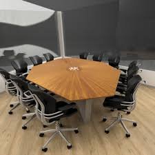large conference table size seating