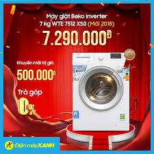 🌈Máy giặt Beko Inverter 7 kg WTE 7512... - Điện máy XANH ...