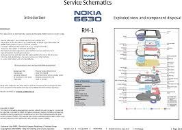 Nokia 6630 Rm 1 Service Schematics
