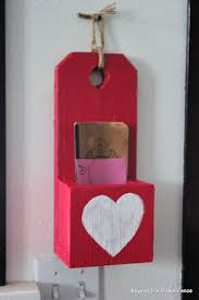 Beyond The Picket Fence Scrap Wood Valentine Box