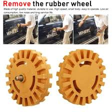 Polishing Wheel Decal Remover 1 4 Shank Rubber Eraser Wheel Quick Polishing Removal Tool For Car Stickers And Decals Buy At The Price Of 3 92 In Aliexpress Com Imall Com