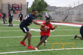 Owasso standout Aaron Colvin returns home to host youth football ...