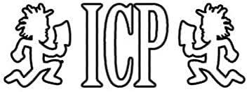 Amazon Com Ew Designs Icp Sticker Decal Juggalos Insane Clown Posse Bumper Sticker Vinyl Sticker Car Truck Decal 5 Kitchen Dining