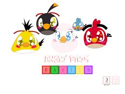 Angry Birds Babies by PinkStarEevee16 on DeviantArt