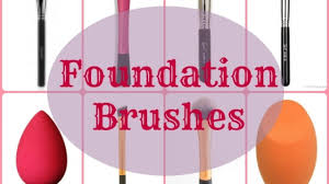 makeup brush guide foundation brushes