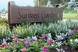 lincoln parks recreation sunken gardens