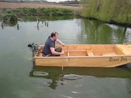 homemade duck boat plans easy way to