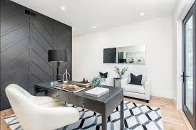 black accent wall design ideas