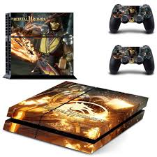 Super Promo 0b1a2a Mortal Kombat Ps4 Stickers Play Station 4 Skin Ps 4 Sticker Decals Cover For Playstation 4 Ps4 Console Controller Skins Vinyl Cicig Co