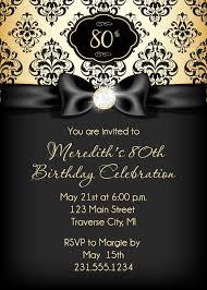 The Black And Gold Birthday Invitations Printable Invitacion Cumpleanos Adultos