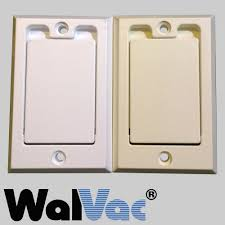 Decora Brand Inlet Cover - White (4402WH) or Almond (4402AL). — WalVac  IncWalVac & VacuMaid Central Vacuum Systems