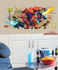 Disney Big Hero 6 Giant Graphix Peel And Stick Wall Decals Rmk2633gm For Sale Online Ebay