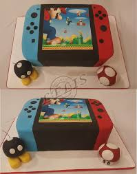 Nintendo Switch With Edible Bomb And Mushroom Bomb Is Also A