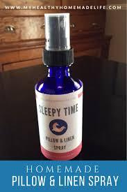diy sleepy time pillow linen spray