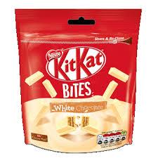 kitkat bites white chocolate