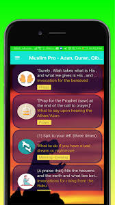 ✅Download Muslim Pro Azan Quran Qibla Prayer Time Calendar20 Android App  [Updated] (2020)