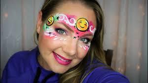 emoji face painting and makeup you