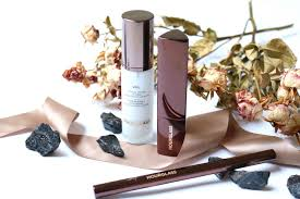 hourgl makeup review veil brow