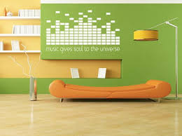 Music Gives Soul To The Universe Wall Decal Dj Decal Etsy