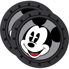 Mickey Mouse 2-Pack Car Cup Coaster Set - Entertainment Earth