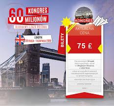 londyn 2019 kongres 60 milionów