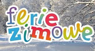 Znalezione obrazy dla zapytania: napis ferie zimowe do druku