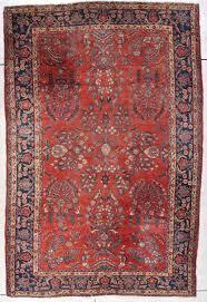 antique persian sarouk oriental rug 7