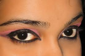 how to apply arabic eye makeup