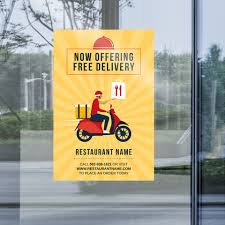 Gotprint Update Your Window Signage To Inform Customers Of New Changes To Keep Orders Coming Use Coupon Social10 For 10 Off Your First Order Product Window Decal 24 X 48 Gotprint Facebook