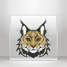 Decal Stickers Wild Cat Lynx Head Helmet Atv Bike Vinyl Bike A19 3xr66 Ebay
