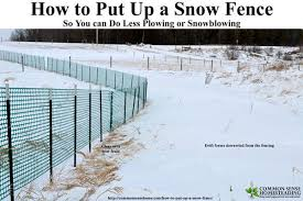 How To Put Up A Snow Fence With Photos And Video Snow Fence Snow Wood Snow Fence