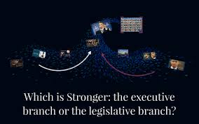 Which is Stronger: the executive branch or the legeslative b by Ivy Simmons