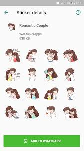 Romantic Couple Stickers For Android Apk Download