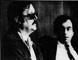 Edmund Kemper during 88' parole hearing. Obviously dark shades were  absolutely necessary. : serialkillers