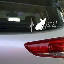 Shop Tailored Love Dogs Camper Travel Hiker Camper Heartbeat Vinyl Car Sticker Online From Best Other Exterior Car Accessories On Jd Com Global Site Joybuy Com