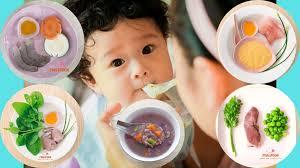 Thực Đơn Cho Bé 6 Tháng Ăn Dặm Đúng Chuẩn - PinkSpoon