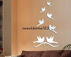 New Modern Creative Fashion Art Peace Dove Wall Decal Sticker Acrylic Crystal Mirror Decoration Diy Fun New Peculiar 3d Wall Poster Monkey Wall Stickers Mural Decals From Sweethome123 22 86 Dhgate Com