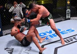 Tyron Woodley Gets Cut Above the Eye By ...