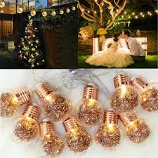 10 led bulbs string lights fairy lamp