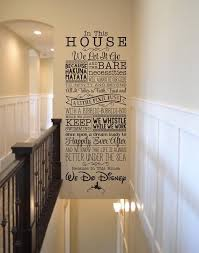 In This House We Do Disney Walldecorstickers Disney Wall Decals Disney Wall Decor Disney Wall