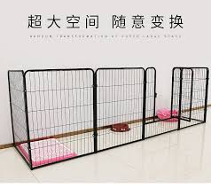 คอกหมา Dog Fence Pet Kennel House Cat Litter Dog Supplies House Fence Small Medium Large Dog Teddy Dog Cage Lazada Ph