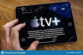 POV Man Reading IPad Pro Apple TV Plus Streaming Service Editorial Stock  Photo - Image of broadcasting, application: 143459548