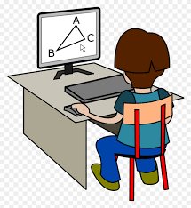 Clipart - Kid On Computer Clipart – Stunning free transparent png ...