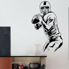 Shop Quarterback American Football Vinyl Wall Art Decal Sticker Overstock 10578065