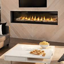 napoleon luxuria see thru gas fireplace