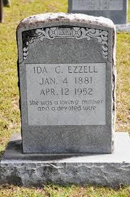 Ida Carter Ezzell (1881-1952) - Find A Grave Memorial